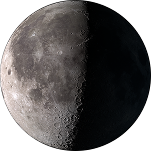 Last quarter moon phase