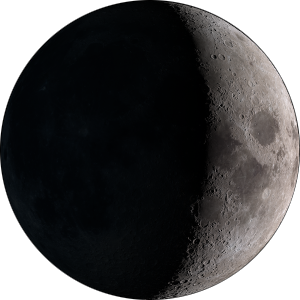 Waxing crescent