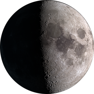 First Quarter moon phase
